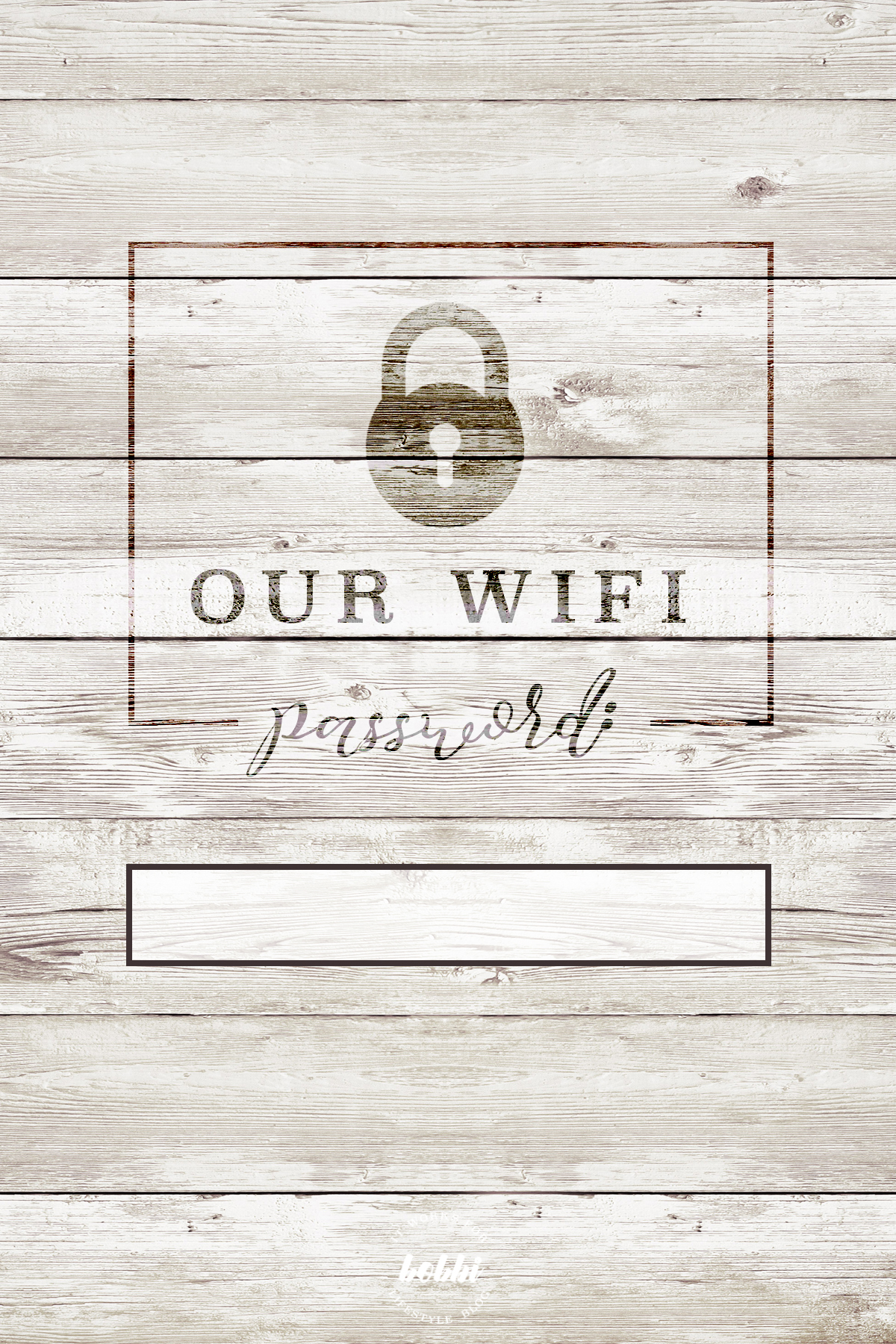 graphic relating to Wifi Password Printable Free referred to as Our Wifi Pword Is Cost-free Printable 4X6 It Functions For Bobbi!