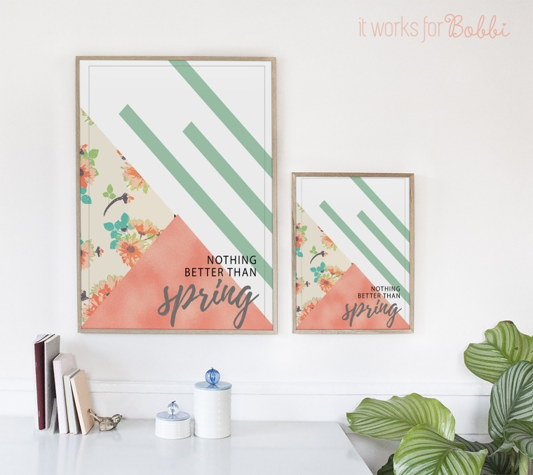 nothing better than spring free 8x10 printable