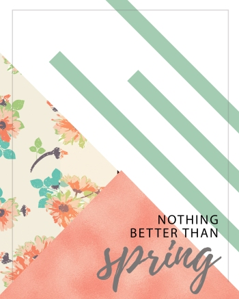 Nothing Better Than Spring - Free Printable 8X10 sign | ItWorksForBobbi.com